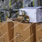 Латунные краны шаровые на складе