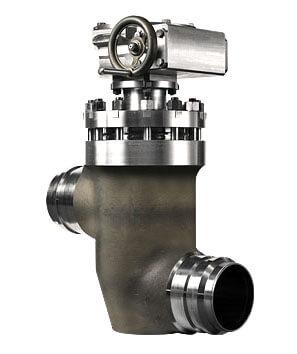 Клапан запорный сильфонный, ТУ 26-07-551-97 с шарнирной муфтой