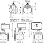 Клапан регулирующий данфосс ВБ2