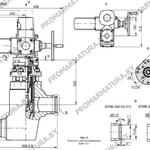 Чертеж клапана регулирующего КПЛВ 493154.01 для АЭС
