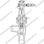 Клапан регулирующий И68030 для АЭС