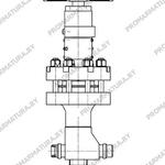 Клапан запорный для АЭС ТД 26371 Знамя труда