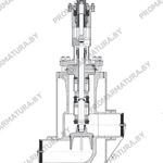 Клапан запорный сильфонный ТД26180 для АЭС