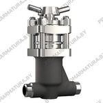 Клапан запорный сильфонный ЗТ26363 для АЭС