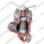Клапан запорный сильфонный КПЛВ по ТУ 3742-004-49149890-2008