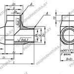 Тройник для АЭС по СТО 95 124-2013