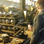 Шаровой механизм кранов - сборка