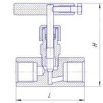 Чертеж калпана стального игольчатого 15с54бк